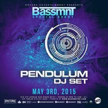 SPECIAL EVENT: Pendulum